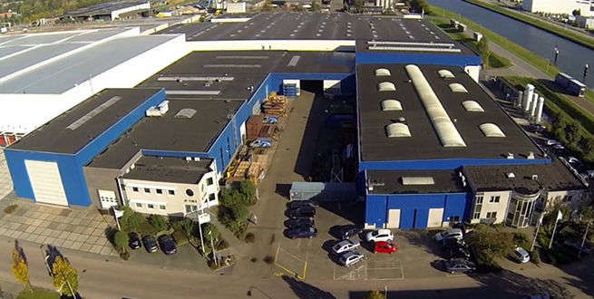 BOMAC Industries recycling machine welding